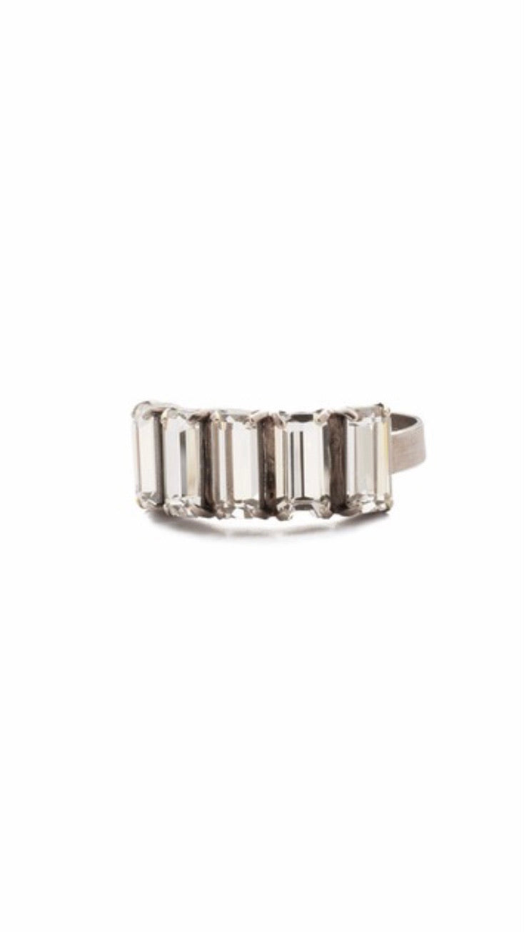 Arden Crystal Band Ring