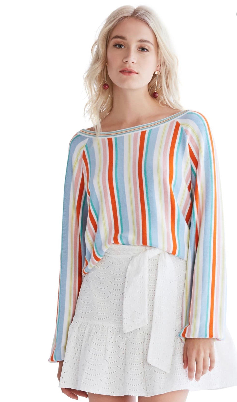 Savior Stripe Sweater