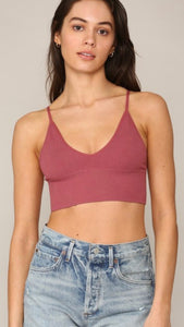 Seamless Ribbed Bralette