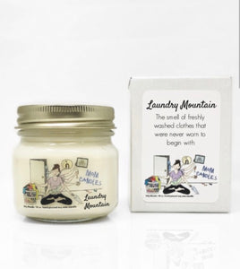 Mom Candles- Laundry Mountain