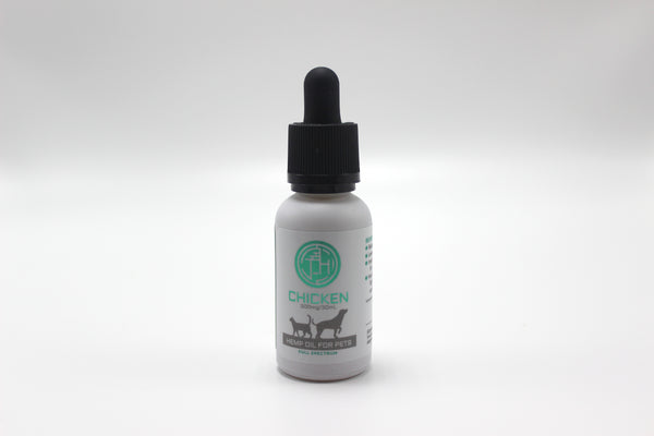 For Pets: 300mg Tincture