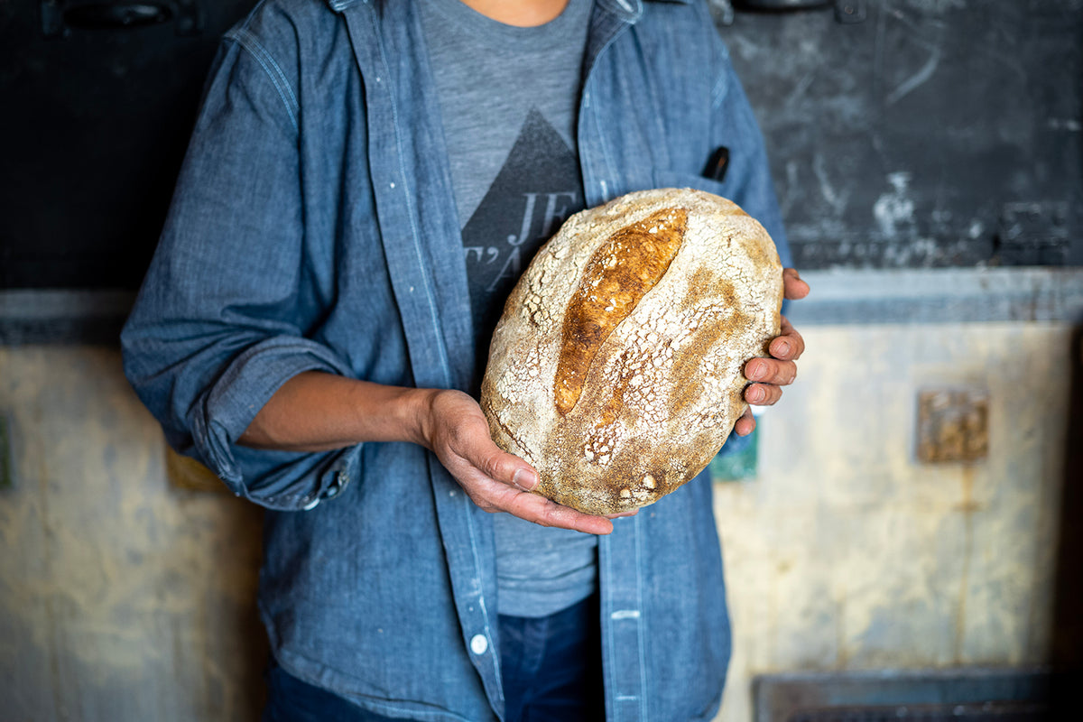 Classic Red Sourdough – Oval Hearth Loaf