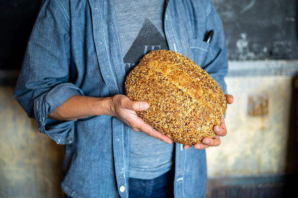 Seeded Red Sourdough – Oval Hearth Loaf
