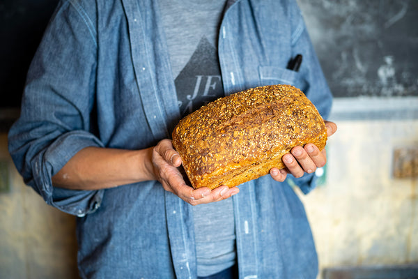 Seeded Red Sourdough – Sandwich Pan Loaf