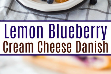 This Lemon Blueberry Cream Cheese Danish recipe is an amazingly delicious dessert that you will want to make again and again for your loved ones!