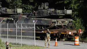 Photographer spots 4 tanks on flatbeds as Trump says tanks will be part of his July Fourth celebration