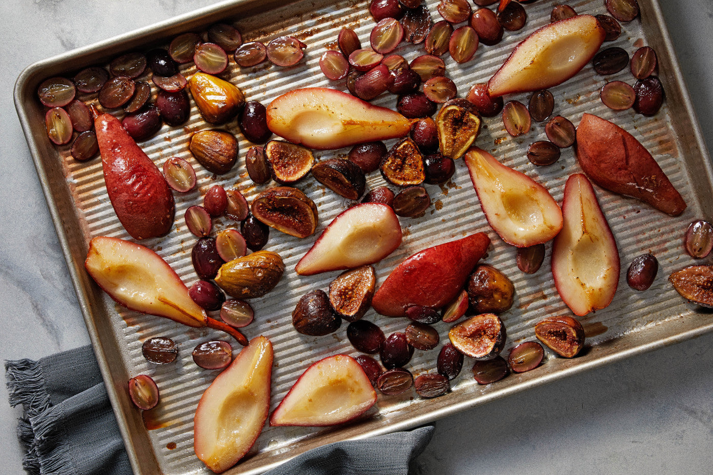 Roasting fall fruit deepens their flavor and nourishes the senses