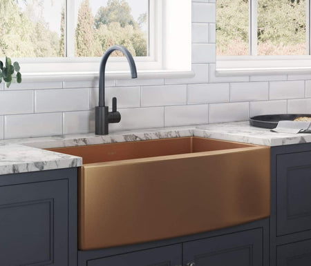 There are plenty of types of sinks that you can choose when you're ready to (re)decorate your kitchen