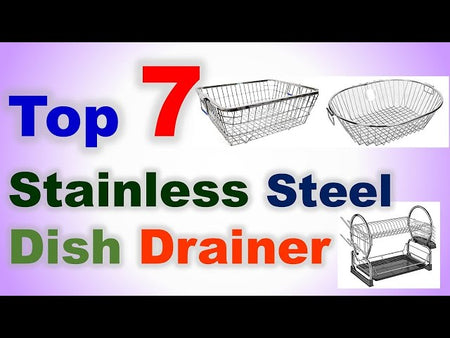 Top 7 Best Stainless Steel Dish Drainer in India Buy From Amazon :
