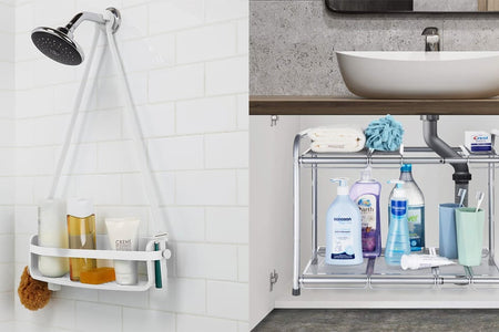 25 Smart Organizers That Will Change Your Messy Bathroom Forever