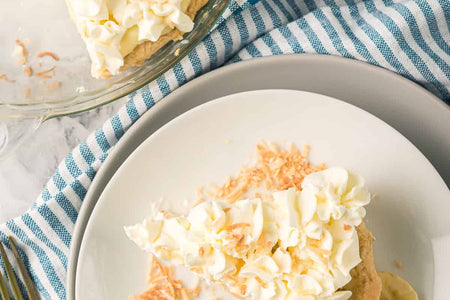 Simple ingredients and a special method make this Old Fashioned Banana Cream Pie easy to make at home