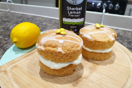 Sherbet Lemon Cream Sponges...