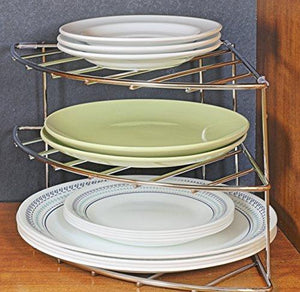 Arcxel 3-Tier Counter and Cabinet Corner Shelf Organizer