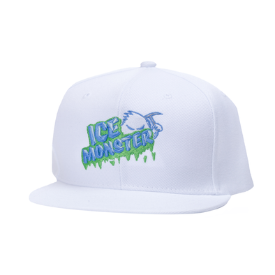 Ice Monster White Snapback (Melon)