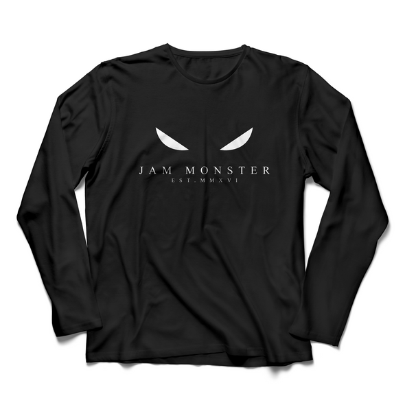 Jam Monster Eyes Black Long Sleeve