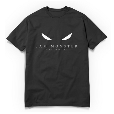 Jam Monster Eyes Black Tee