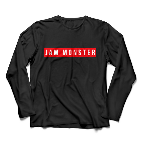 Jam Monster Label Black Long Sleeve