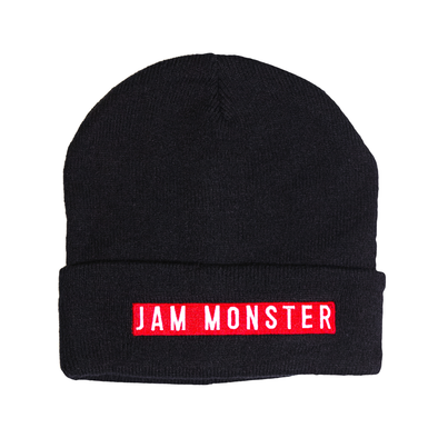Jam Monster Label Black Beanie