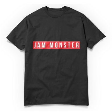 Jam Monster Label Black Tee