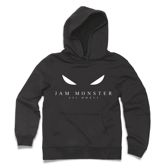 Jam Monster Eyes Black Hoodie