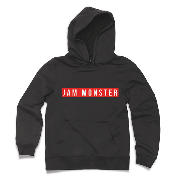 Jam Monster Label Black Hoodie