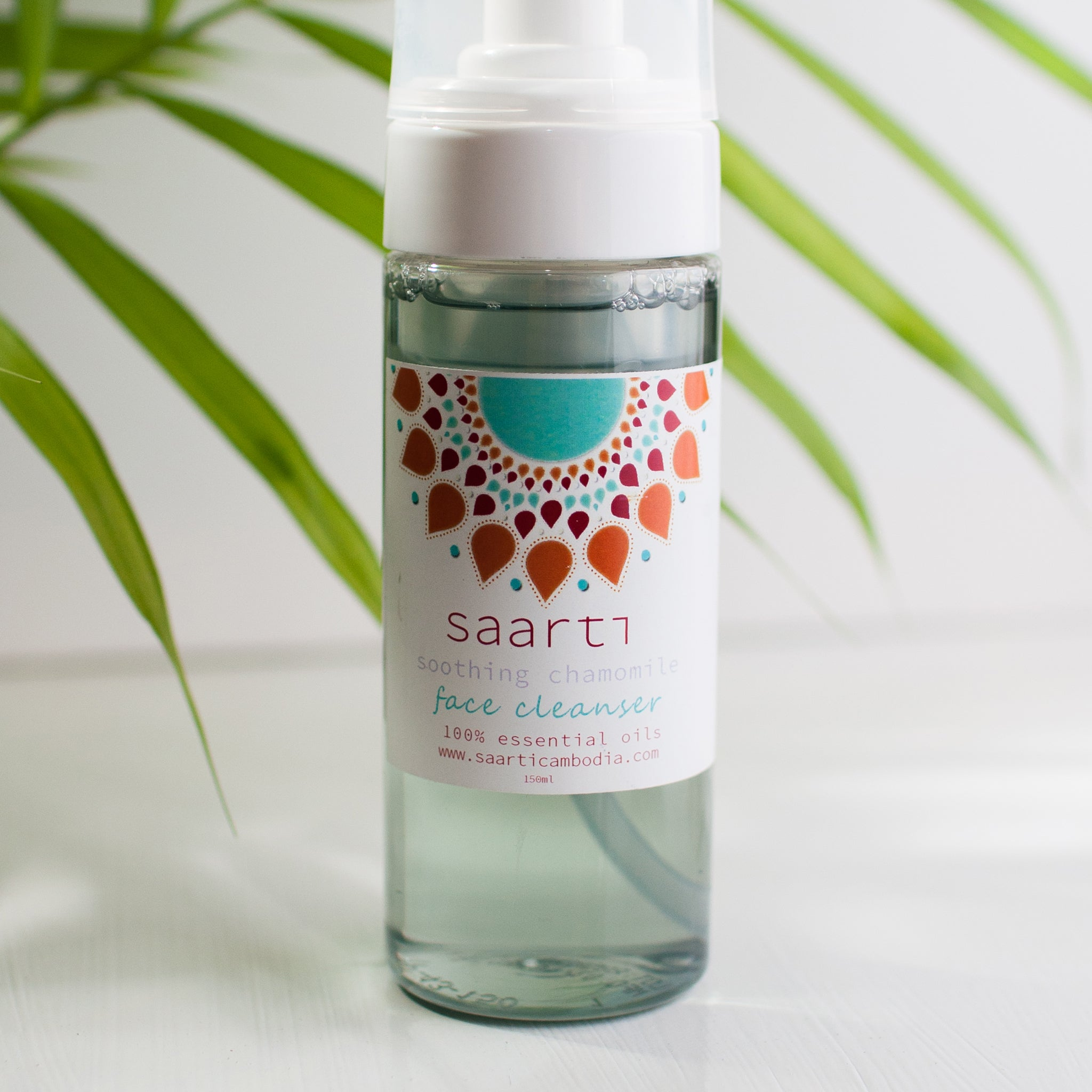 Facial Cleanser Foaming (Blue Chamomile)