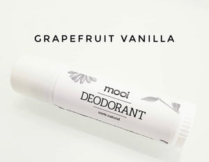 Mooi Deodorant Stick in Grapefruit Vanilla