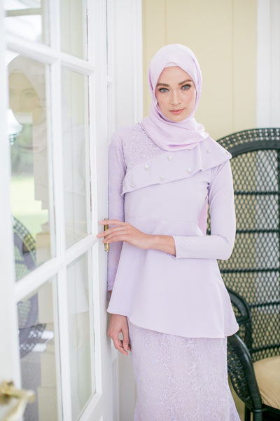 Darci Kurung (Dusty Purple)