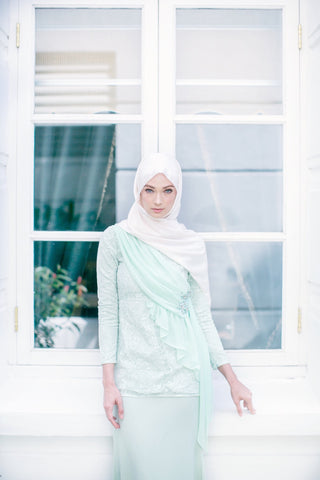 Jules Kurung (Mint Green)