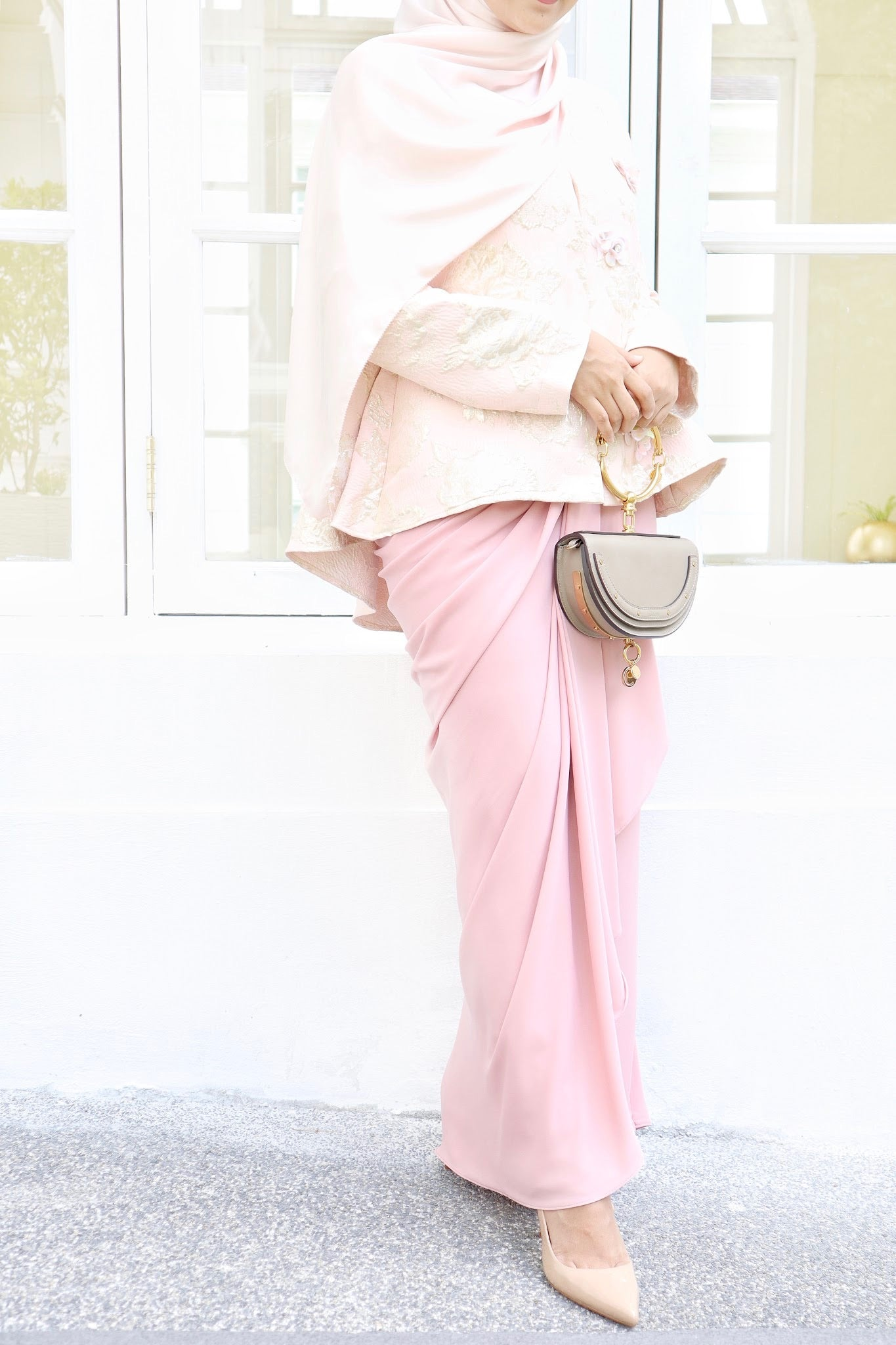 Alexa Skirt (Dusty Pink)
