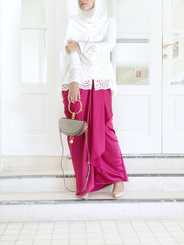 Alexa Skirt (Raspberry)
