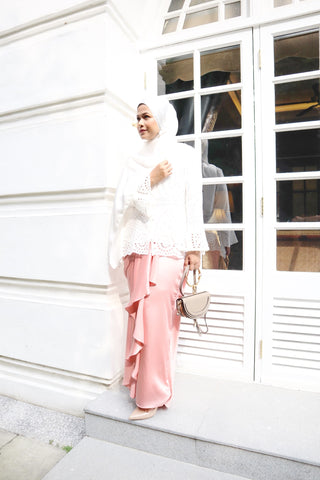 Alexa Skirt (Rose Pink)