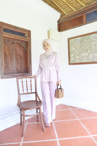Laura Pants (Dusty Lilac)