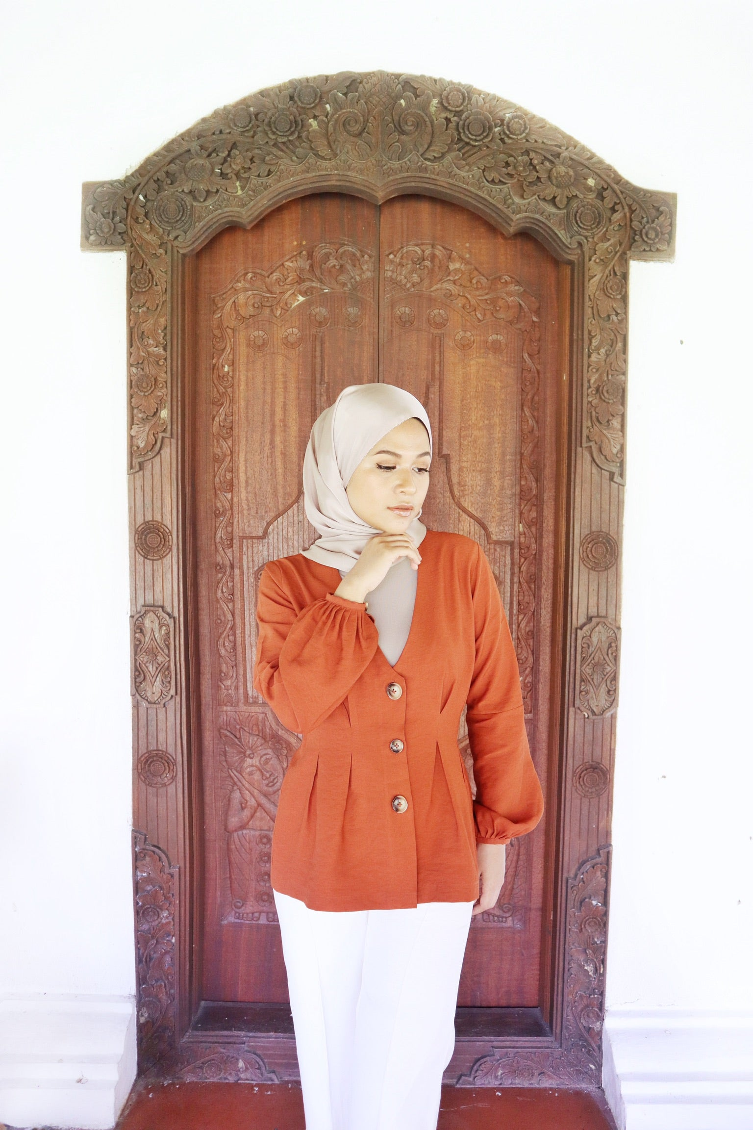 Annie Top (Brick Orange)