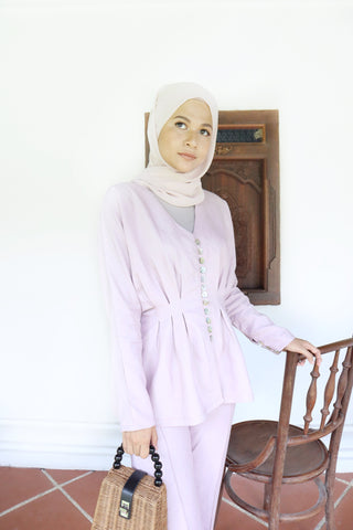 Betty Top (Dusty Lilac)