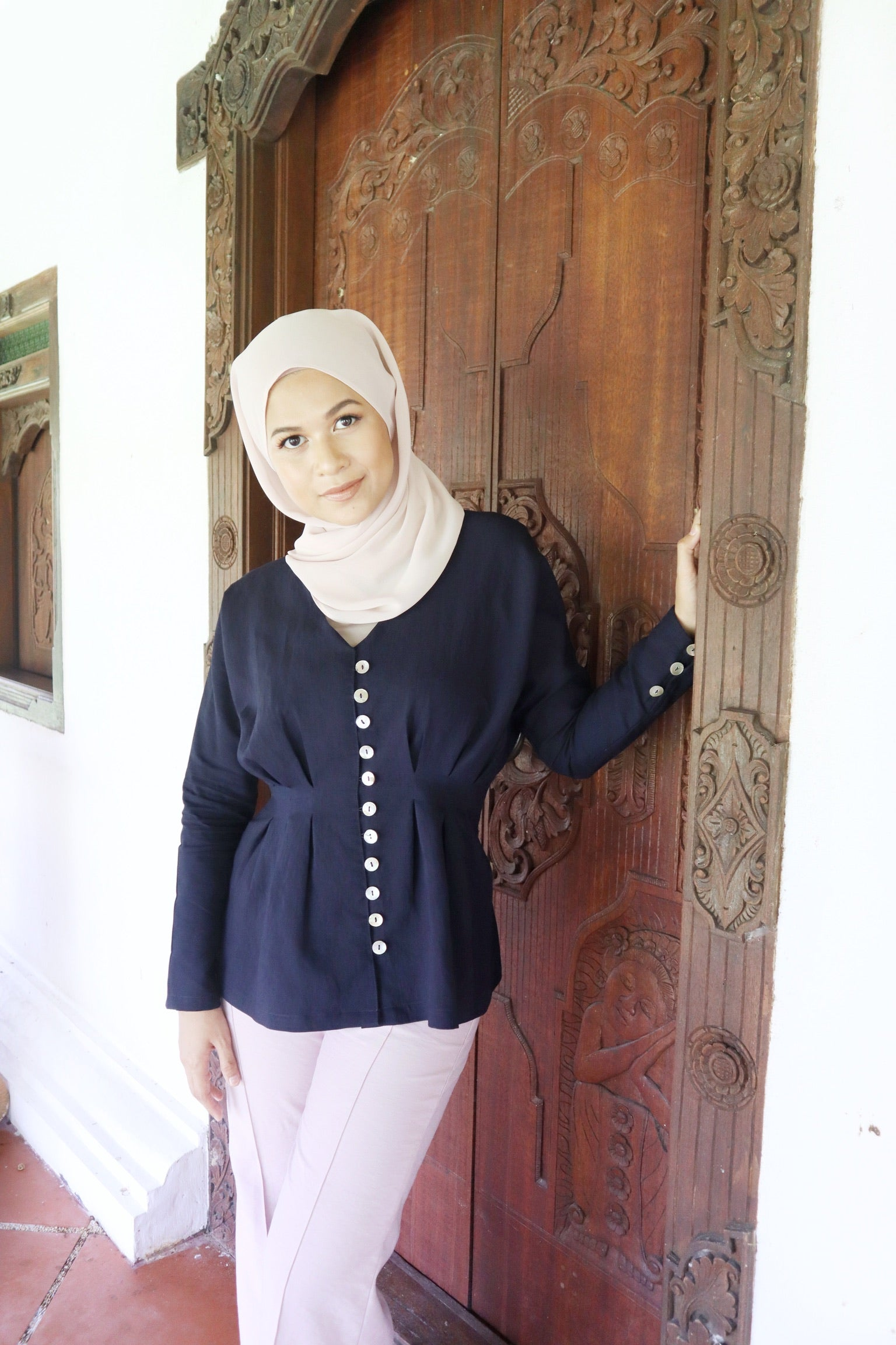 Betty Top (Dark Blue)