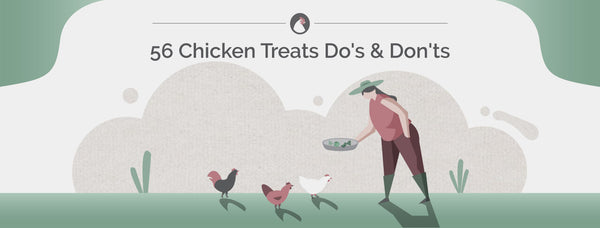56 Chicken Treats Do's & Don'ts
