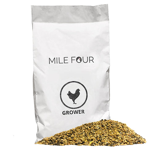 mile four grower chicken feed