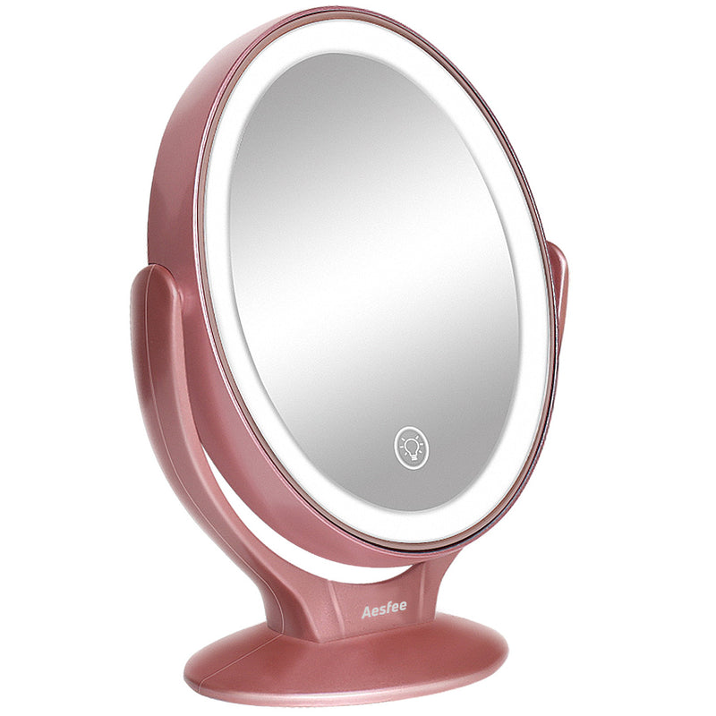 Lighted Makeup Mirror.Lighted Makeup Mirror With Magnification