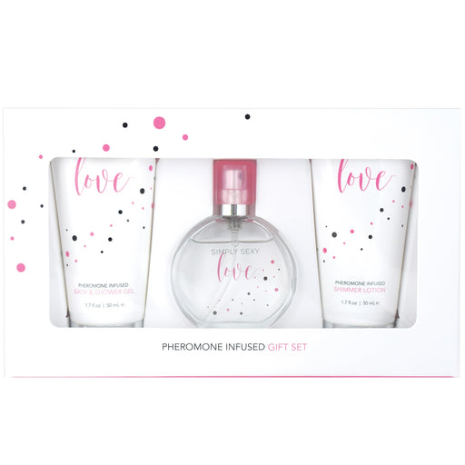 Simply Sexy Love Pheromone Infused Perfume Gift Set - 4 Pcs. CE2500-50