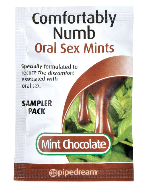 Comfortably Numb Oral Sex Mints - Chocolate Mint PD7444-63