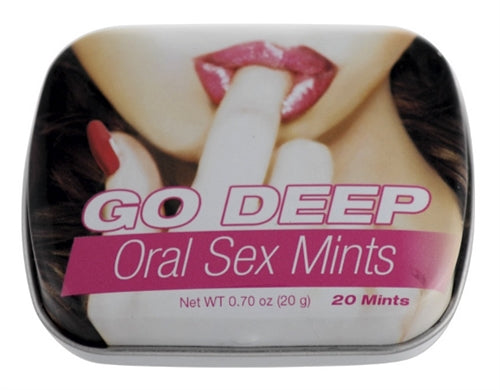 Go Deep Oral Sex Mints TS1030108E