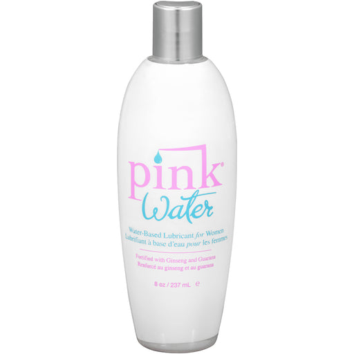 Pink Water Based Lubricant for Women 8 Oz Flip Top Bottle PNK-PW-8