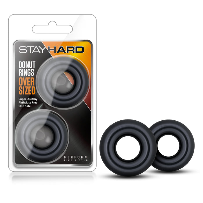 Stay Hard Donut Rings - Over Sized BL-00989