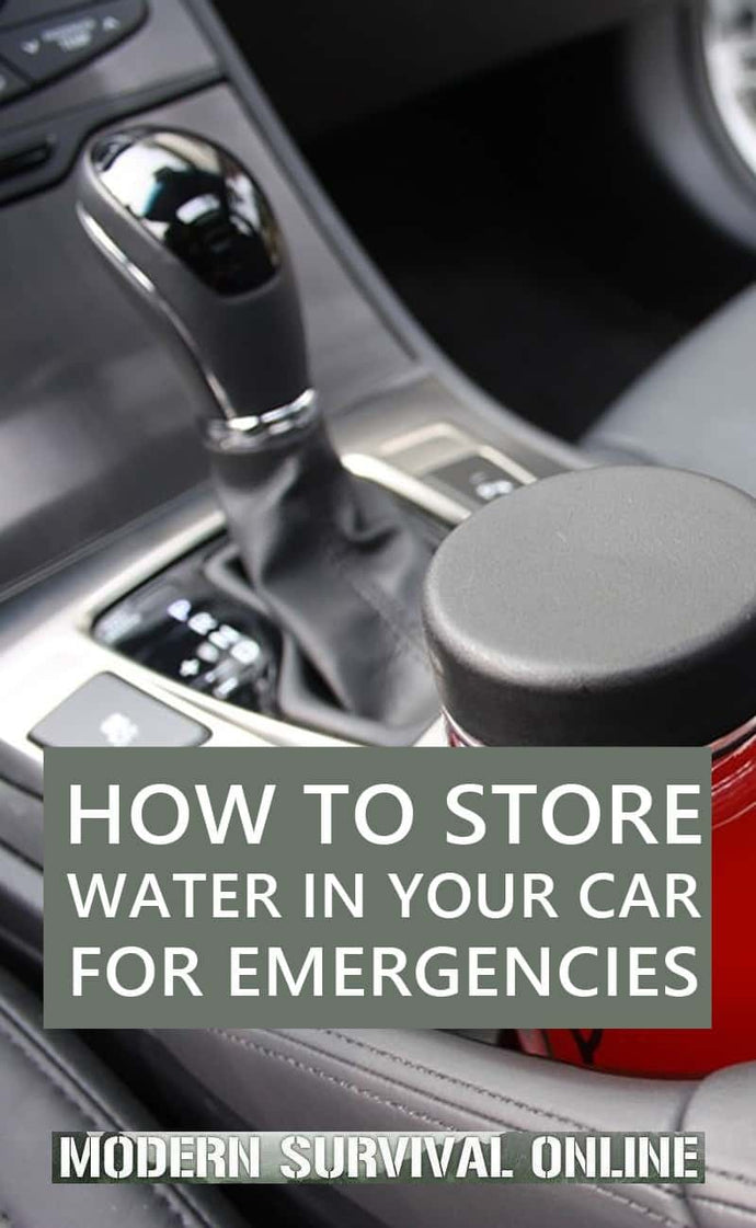 How to Store Water in Your Car for Emergencies