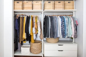 This Container Store Sale Has Storage Solutions for Small Closets