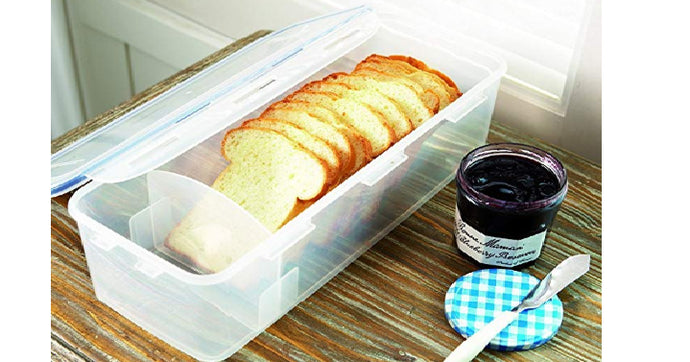 LOCK & LOCK Airtight Rectangular Food Storage Container, Bread Box Only $9.11! Great Reviews!