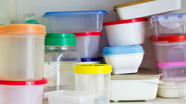 How To Organize Your Plastic Food Container
