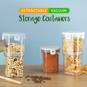 Retractable Vacuum Storage Container