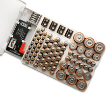 Battery Master Battery Capacity Tester Storage Organizer Box
